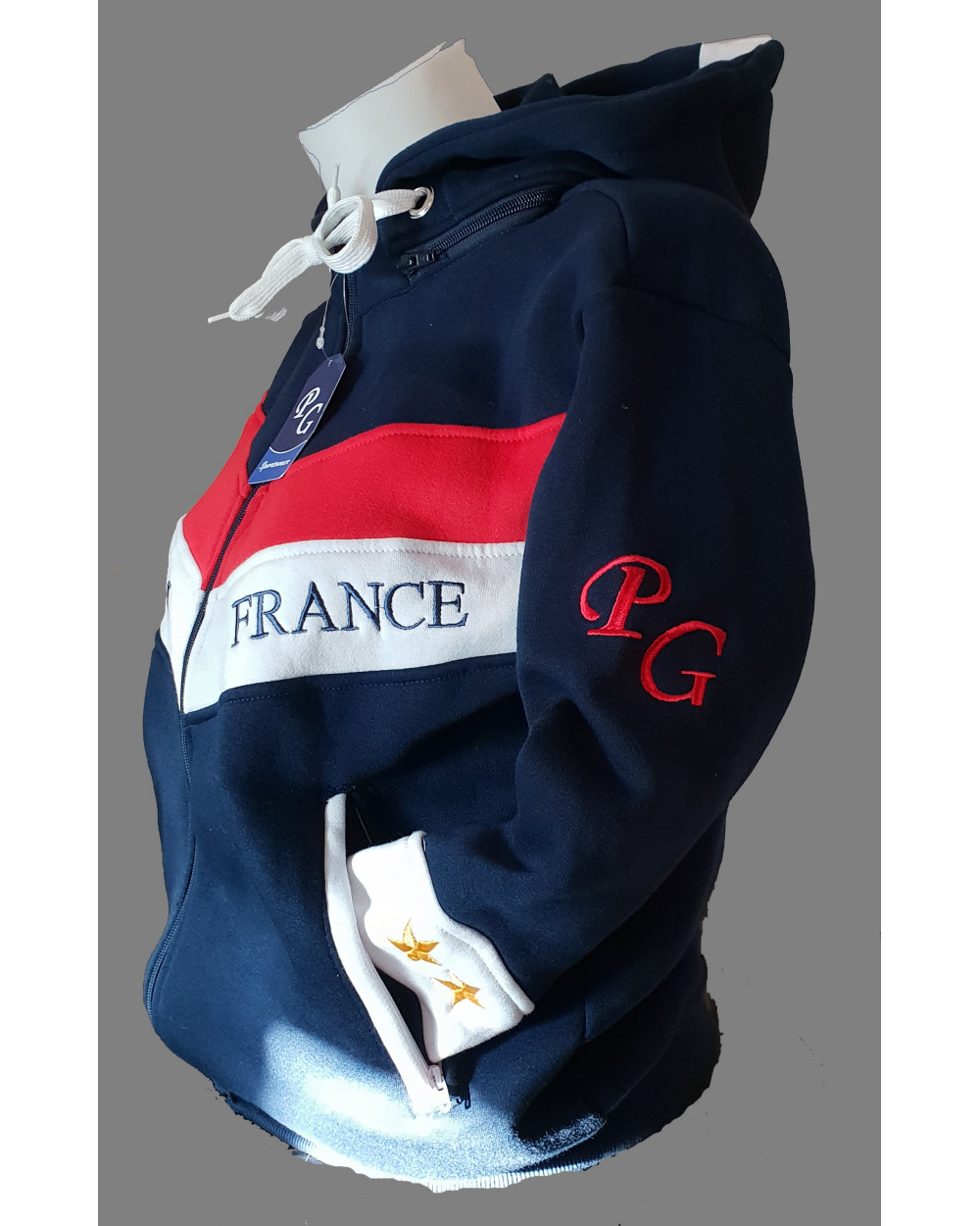 Sweat France PG Zip